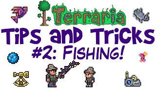 Terraria Fishing Tips aฑd Tricks! Angler Quest Guide! Rods, Bait & Crates! (PC 1.3.3)