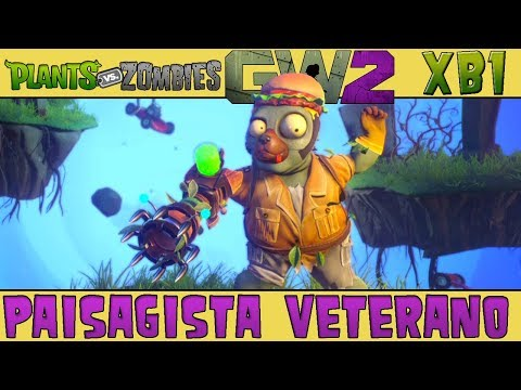 Plants vs. Zombies Garden Warfare 2 - Paisagista Veterano