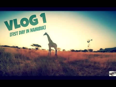 VLOG 1 [First 24 hours in Namibia]