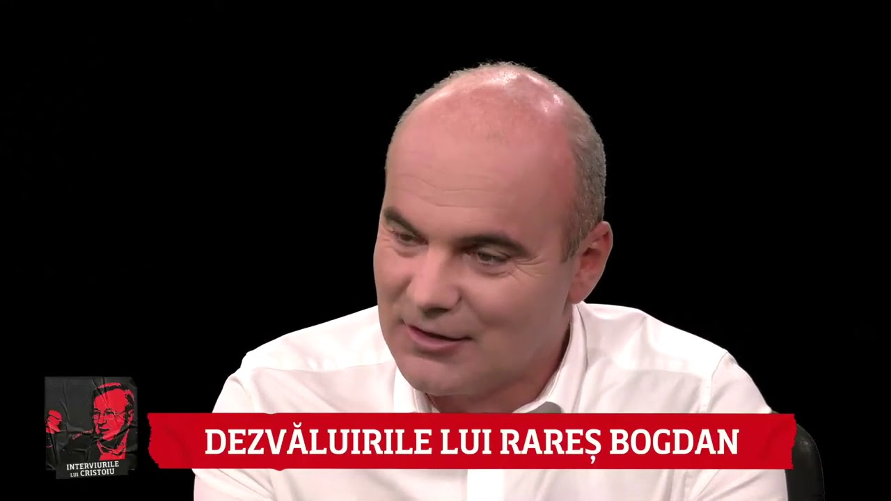 Interviurile lui Cristoiu. Invitat: Rareș Bogdan, prim-vicepreședinte PNL, 17 ianuarie 2021