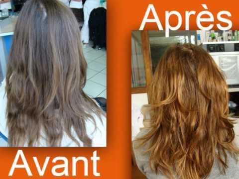 Coloration douce cheveux blancs