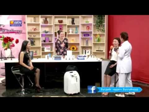 Intraceuticals Mongolia  NTV tv 2