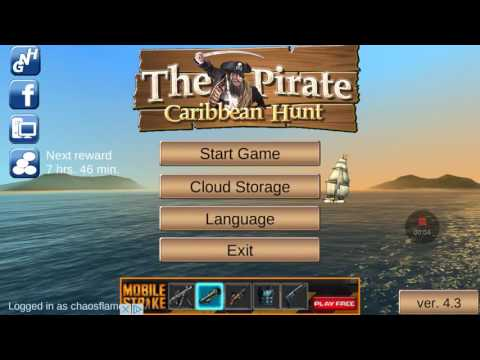 The pirate Caribbean hunt game glitch