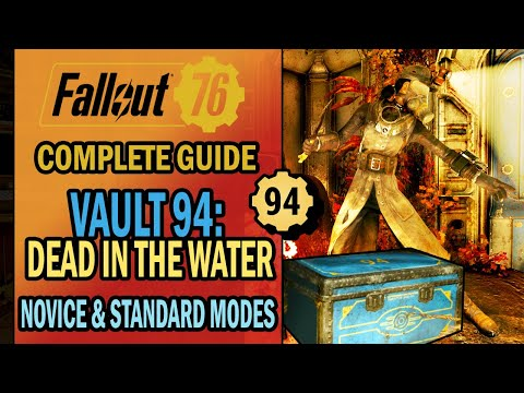Fallout 76 - Vault 94 Dead in the Water: All You NEED to