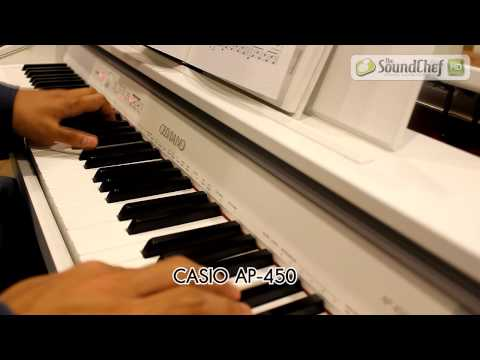 (ตอน2/3) มหากาพย์รีวิวเปียโน CASIO PX150, A100, 350, 750, 850, AP250,450,650 จัดให้ครบ!