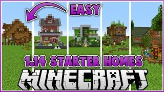 Easy to Build 1.14 Starter Houses!