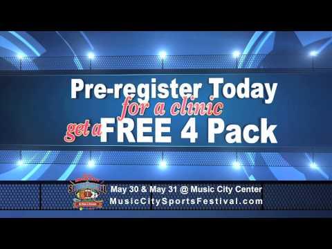 Music City SportsFest 30sec commercial