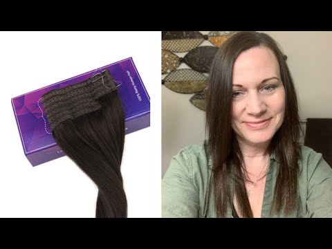 All about my Flip in LaVoo Hair Extension/ Halo Hair Extension/First Impressions/Worth it? thumbnail