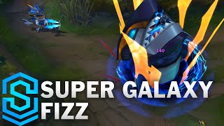 Super Galaxy Fizz Skin Spotlight - Pre-Release - League of Legends