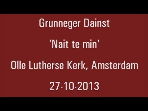 Grunneger Dainst 27-10-2013 - Lutherse Gemeente Amsterdam