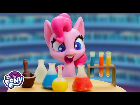 NEW SERIES! My Little Pony: 'Potion Party' Stop Motion Short 🧪 Episode 1