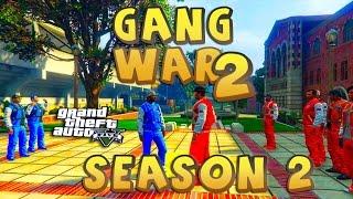 GTA 5 THUG LIFE #2 - GANG WAR BLOOD VS CRIPS  | S2
