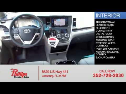 2015 Toyota Sienna 52192   Leesburg FL. Phillips Toyota