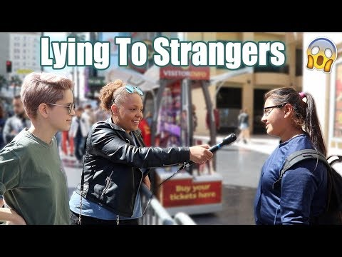 Telling People Fake News! | Hollywood Blvd