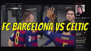 Video Gol Pertandingan FC Barcelona vs Celtic