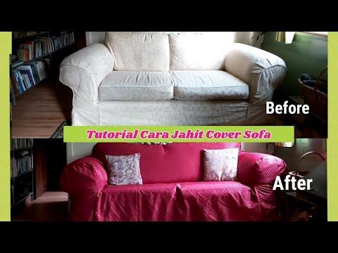 Di Rumah Aja Jahit Urung Sofa Tutorial Menjahit Cover Sofa Youtube