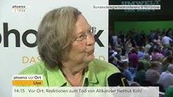 Bundesparteitag B'90/Grüne: Bärbel Höhn im Interview am 17.06.2017