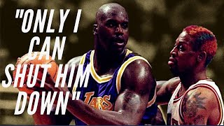 How Dennis Rodman kept Shaq at 0 Points - Master Mind