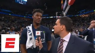 Jimmy Butler says Timberwolves have finally started to do their job | ESPN
