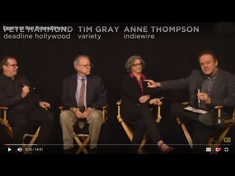 4 Oscar Experts Predict Best Picture: Anne Thompson, Pete Hammond, Tim Gray & Tom O'Neil