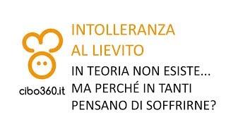 Intolleranza Al Lievito? Non Esiste!