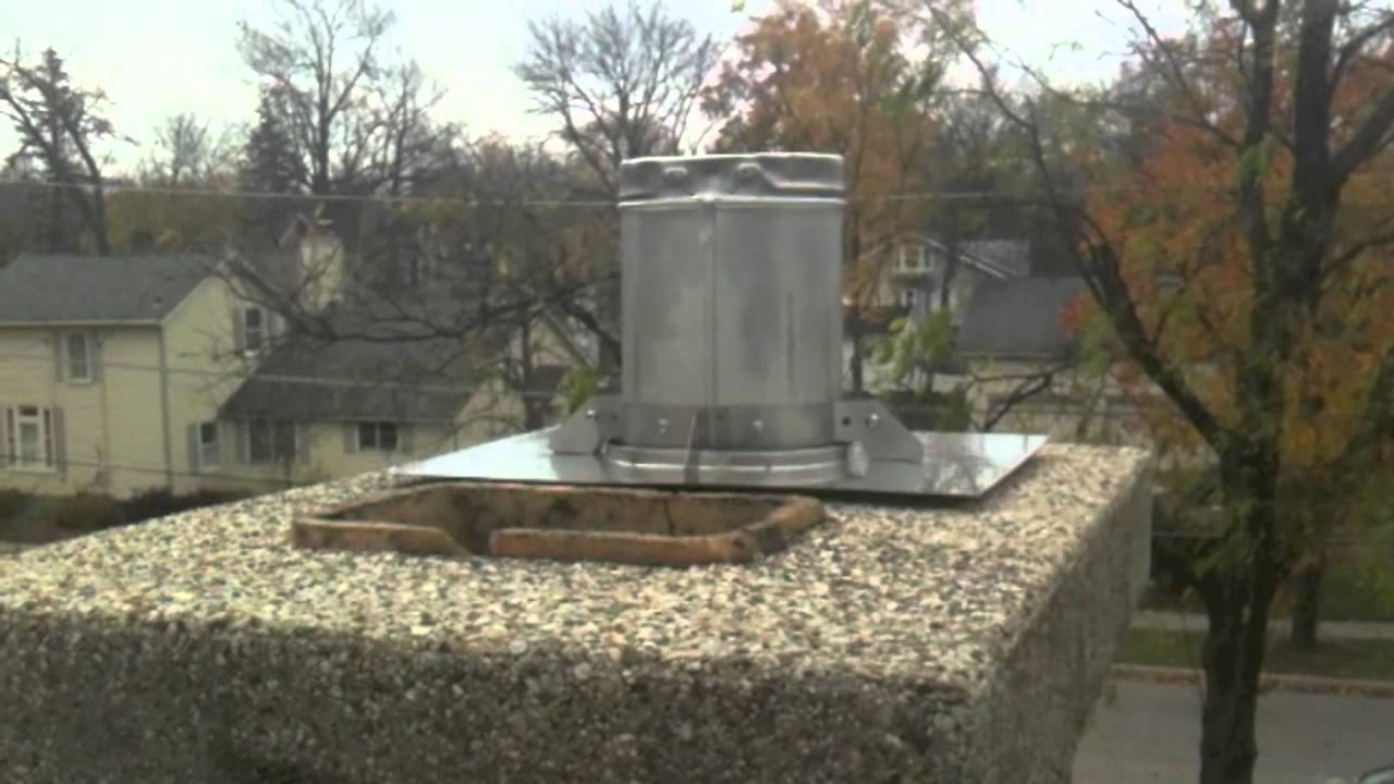 Blaze King Fireplace and DuraVent Liner Install - YouTube