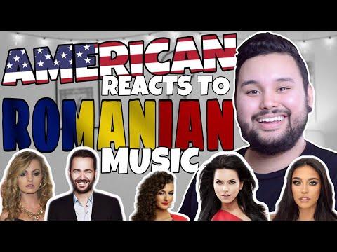 American REACTS // Romanian Music