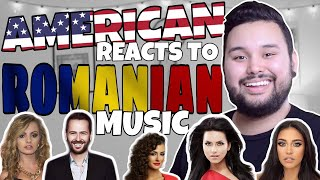 American REACTS Romanian Music