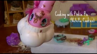MLP : Cooking wİth Pinkie Pie 4# (Nutella Cookies)