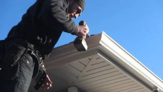 How to Make an Eavestrough Corner