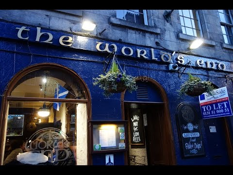 The World's End Pub in Edinburgh - Belhaven The World's End Cask Ale & Black Scottish Stout