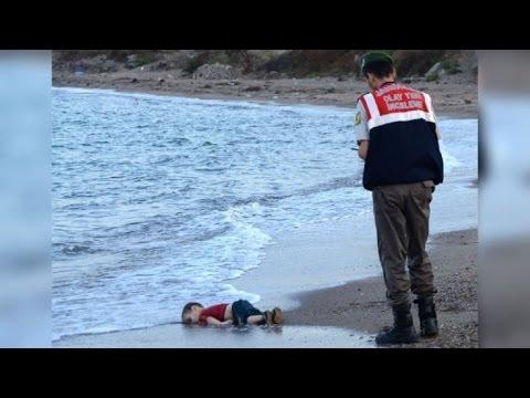 Una imagen que retrata el drama de los migrantes