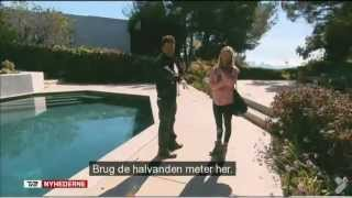TV2 News DK - Natacha Guldbech in Hollywood