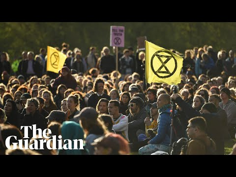 Extinction Rebellion: a week of protest in three minutes