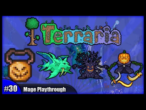 Let's Play Terraria 1.2.4 || Mage Class Playthrough || Fishy Business & Wing Upgrades! [Episode 30]