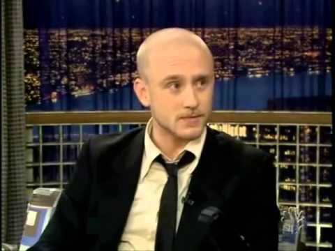 """Ben Foster on """"Late Night with Conan O'Brien"""""""