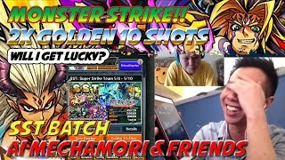 Milko Gaming : Monster Strike 2x Golden 10-shots SST Batch, Will I get lucky this time?