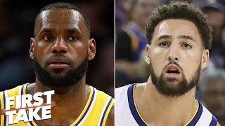 LeBron James, Lakers need Klay Thompson to compete in Western Conference - Stephen A. | First Take