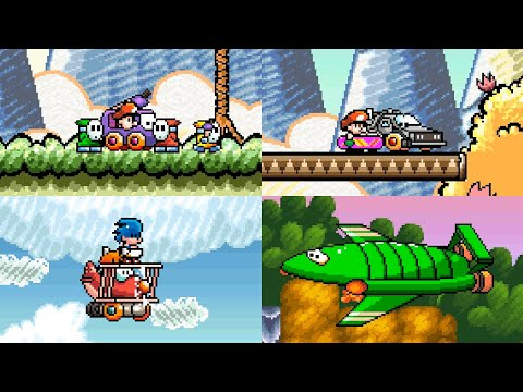 If YOSHI'S ISLAND Had More TRANSFORMATIONS! (complete Series!)