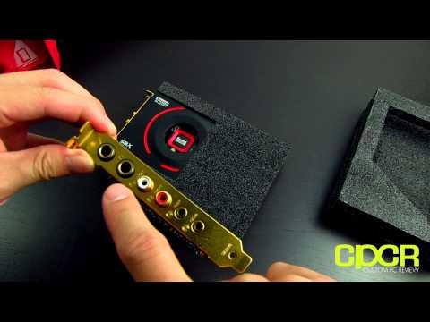 Creative Sound Blaster ZxR Unboxing + Written Review
