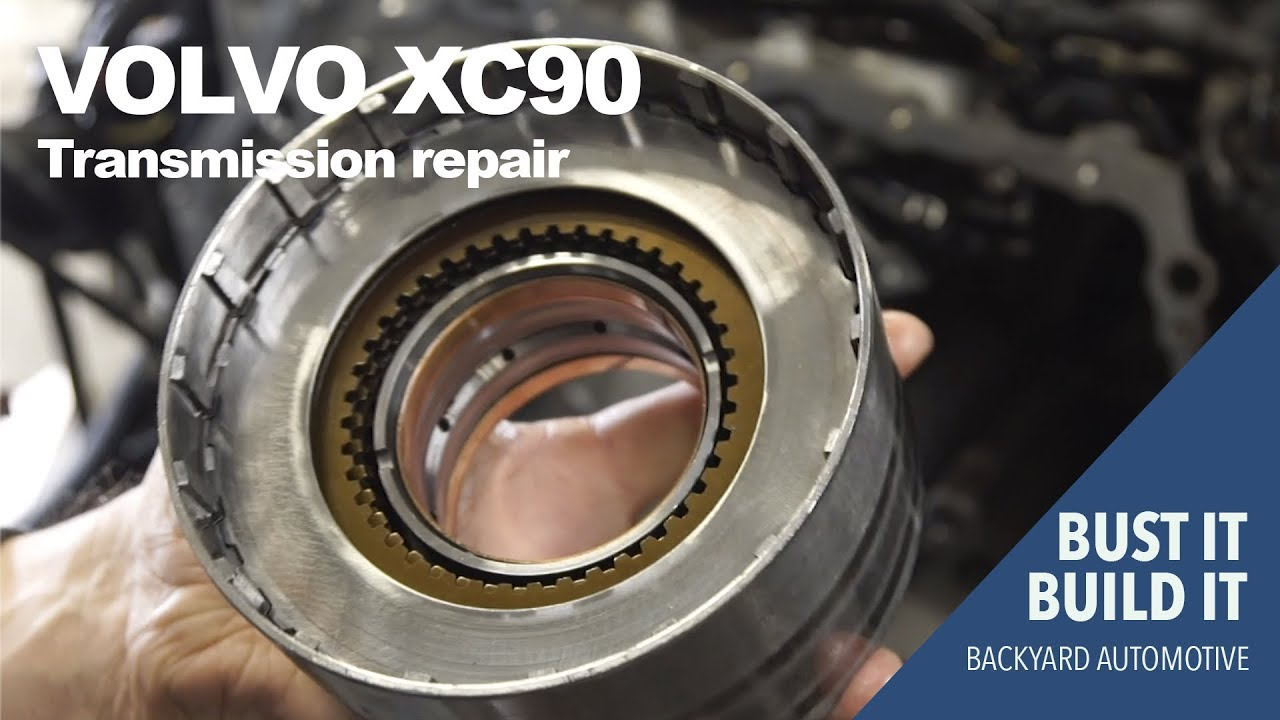 Finding the problem with a XC90 4T65E transmission