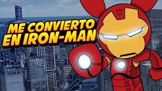 ROBLOX: ME CONVIERTO EN IRON-MAN | Superhero Tycoon
