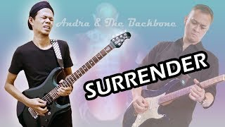 Andra & The Backbone - Surrender (no WAH pedal version) cover by Gusto
