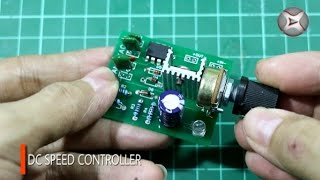 How To Make DC Motor Speed Controller | PWM