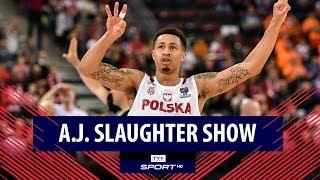 A.J. Slaughter i koncert