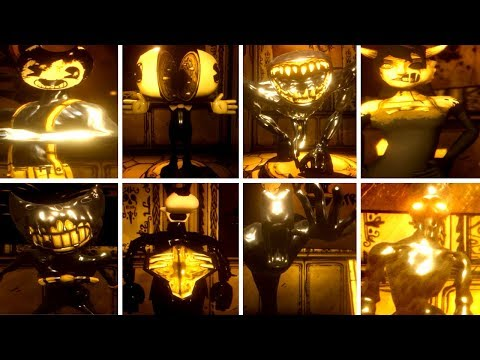 ALL CHAPTER 5 CHARACTERS! | Bendy and the Ink Machine EXTRAS