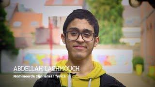"""""""Je was de eerste die zei dat ik talent had"""" - Abdellah over zijn favoriete leraar"""