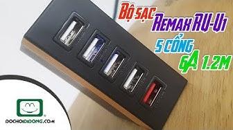 Bộ sạc Remax RU-U1 5 cổng 6A 1.2m