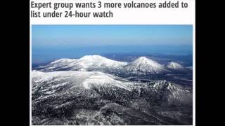 3 Volcanoes under 24-hour watch Eruption!