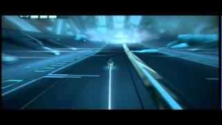 Tron Evolution Light Cycle gameplay video.wmv